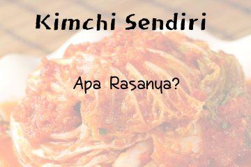 membuat kimchi di rumah