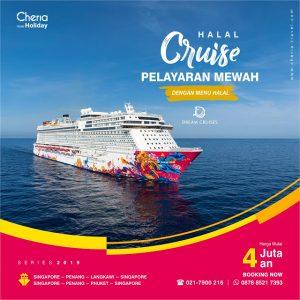cheria holiday naik kapal pesiar latifika.com