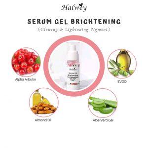 review serum brightening halwey